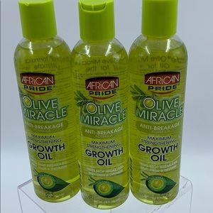 African Pride Olive Miracle Anti Breakage NEW